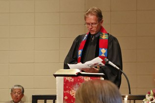 Rev. Jeffrey Cochran Carney, First Presbyterian Church of South Amboy: Prayer of Thanksgiving
