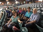 LPC - at Blueclaws' baseball game - June 2017