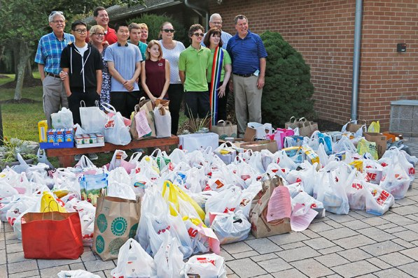 Food Drive - September 2017 - in support of COG'sCalico Cat Pantry of Middletown, NJ.