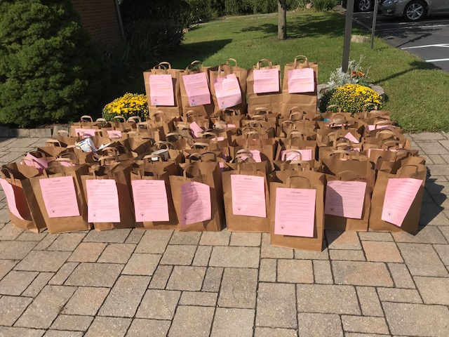 Food bags collected - September 2020